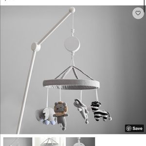 NEW IN BOX Pottery Barn Kids mobile arm